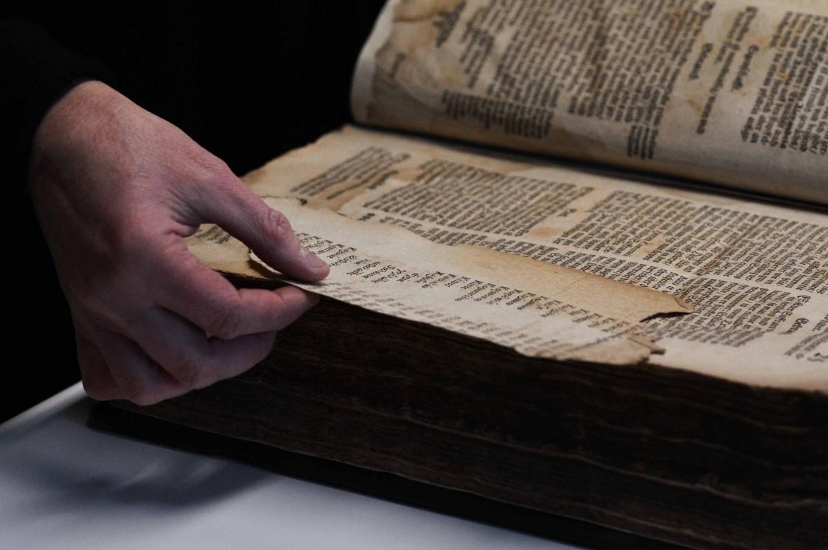 Ein antiquarisches Buch
