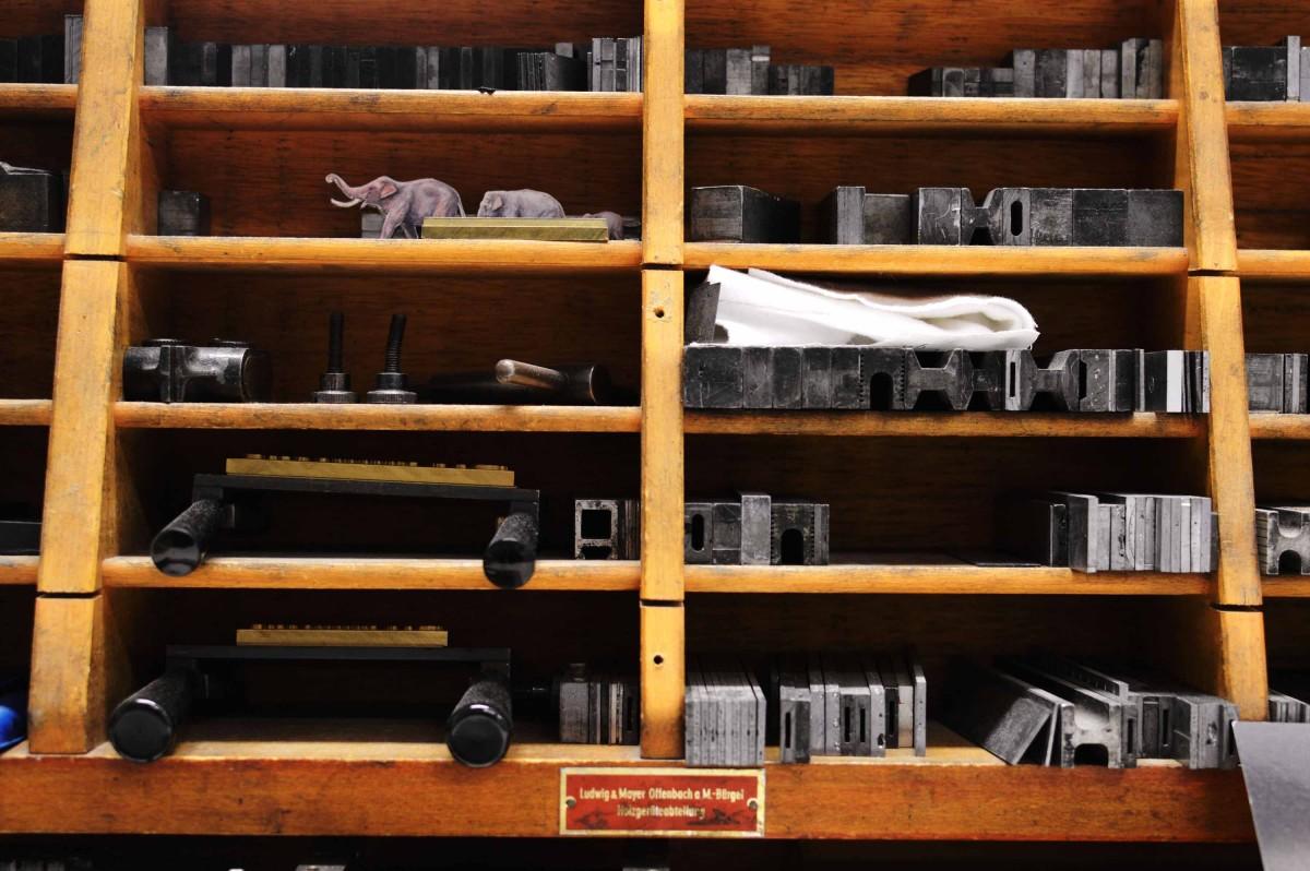 Buchbindermaterialien