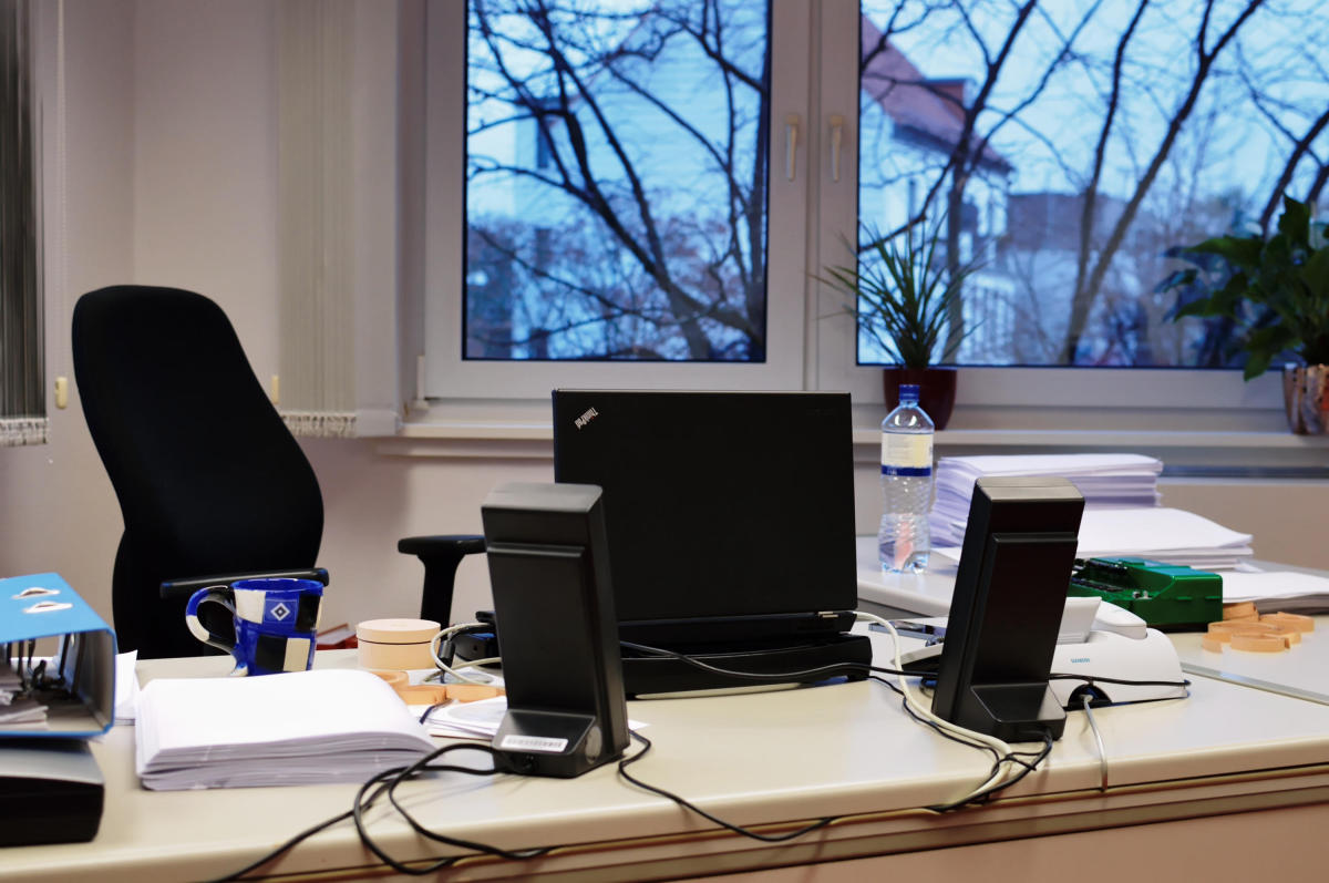Schreibtisch Heiko Kunert