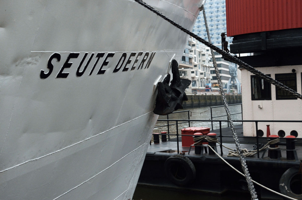 Schiff Seute Deern