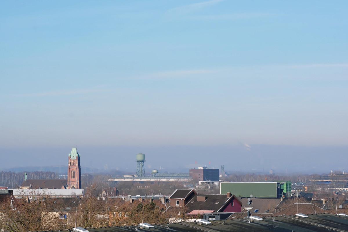 Panoramablick Bochum