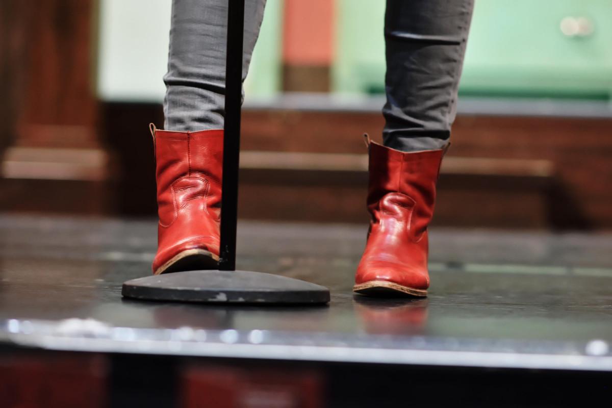 Mirja Regensburgs Schuhe