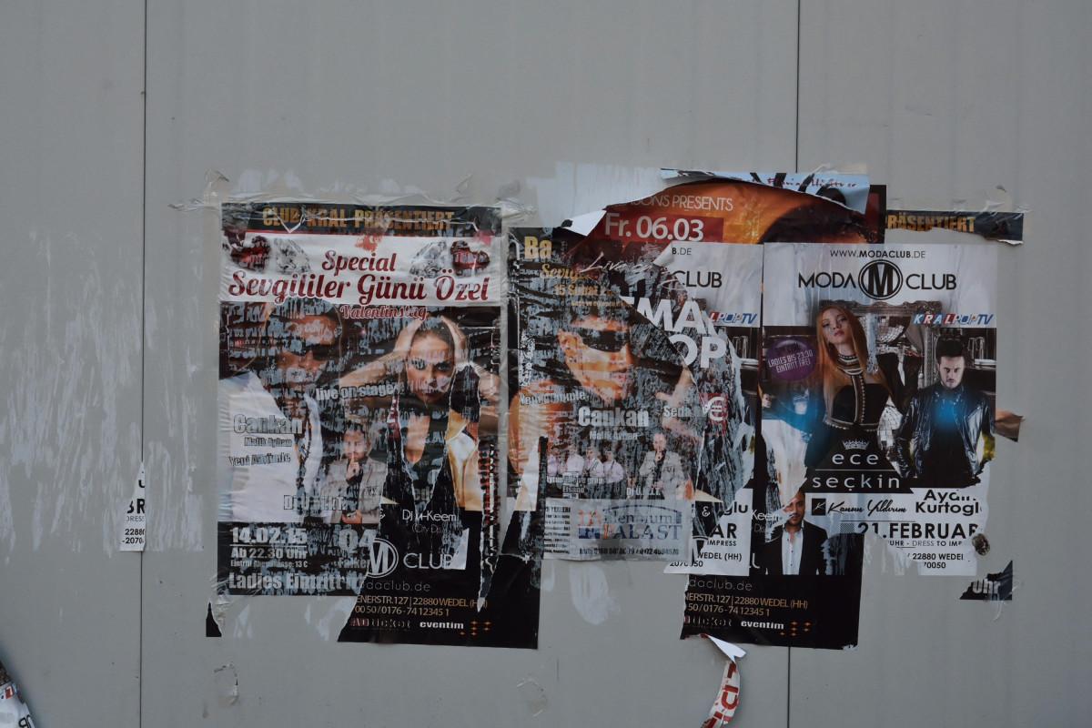 Türkische Poster