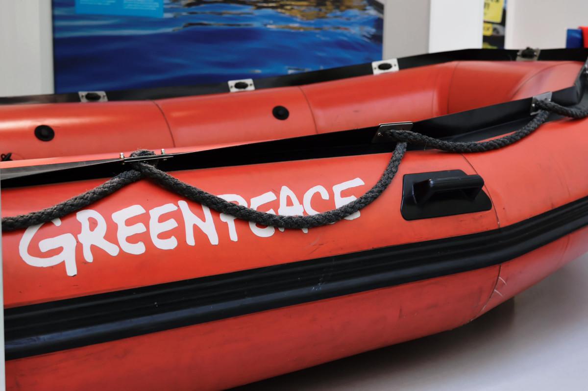 Greenpeacheschlauchboot