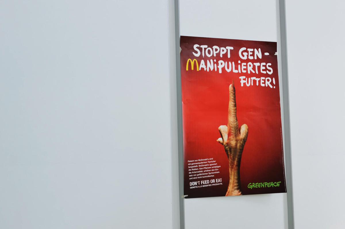 Poster McDonald's-Kampagne
