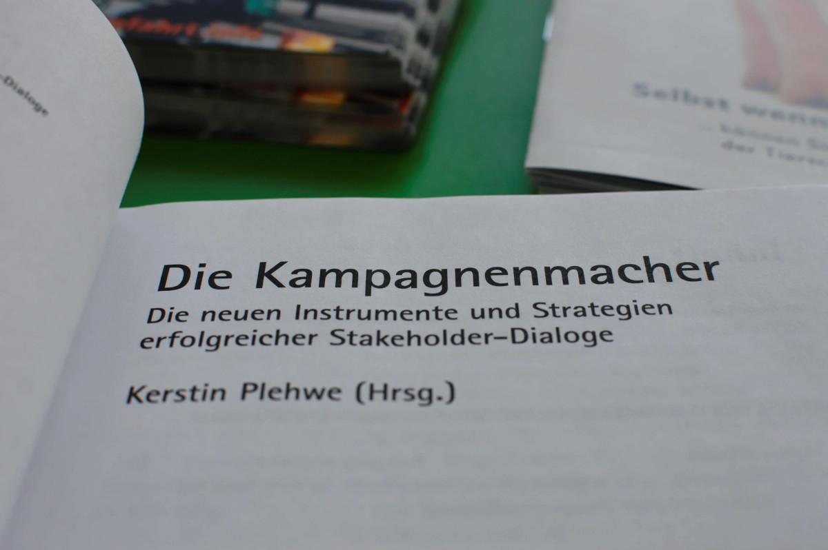 """Buch """"Die Kampagnenmacher"""""""