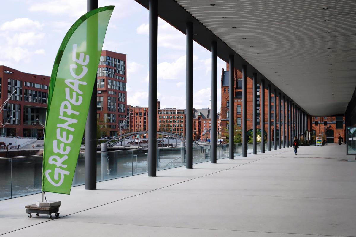 Greenpeacehaus außen