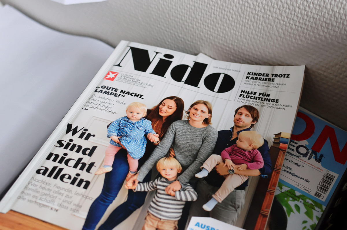 Ein Nido-Heft