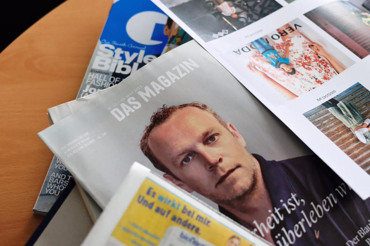Magazinstapel