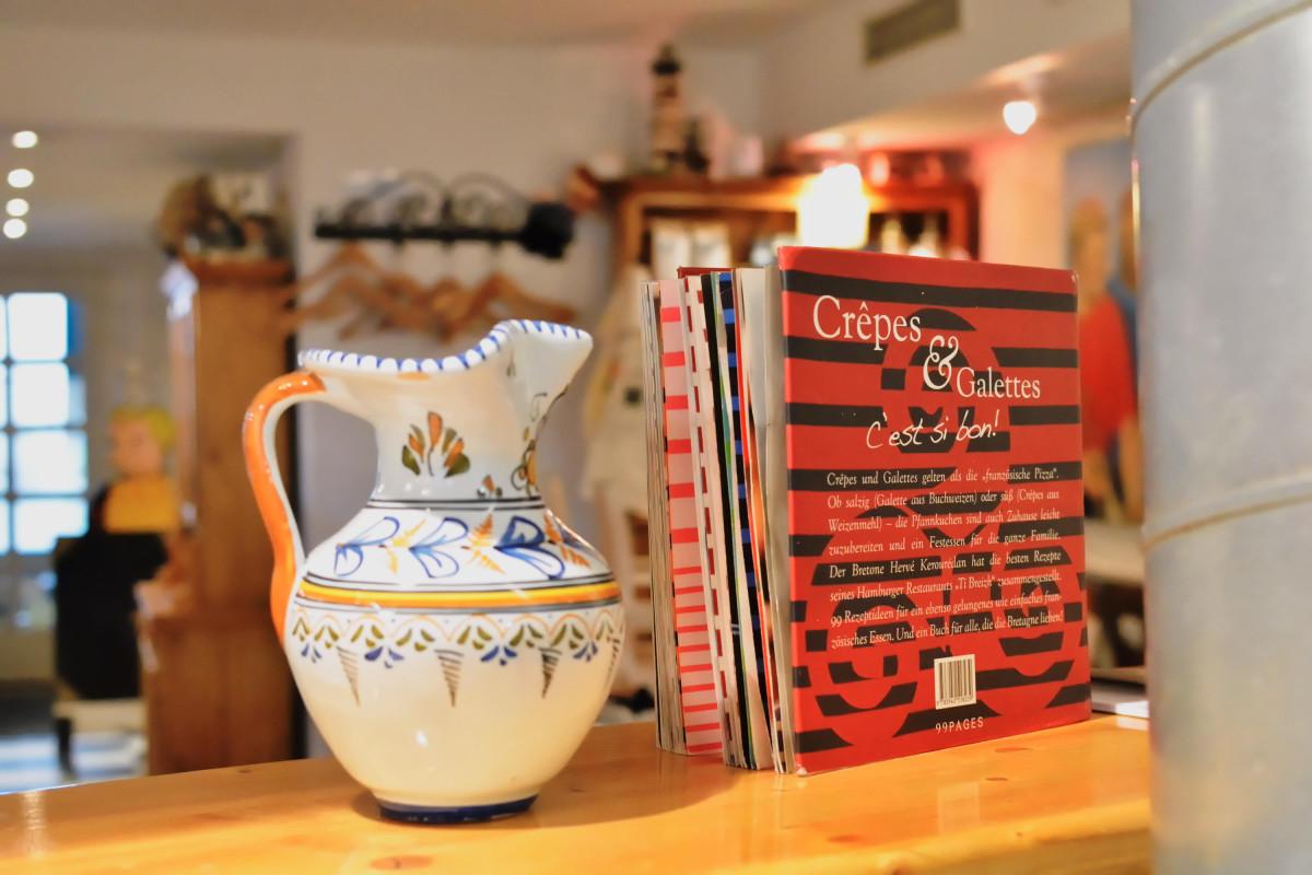Eine bretonische Vase